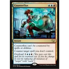 COUNTERFLUX NM mtg Commander 2015 Gold - Instant Rare