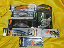 Fishing Lure lot of 7 new, 13 Fishing, Booyah,Bill Lewis, Sixth Sense Bomber