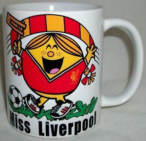 Funny Miss Liverpool Coffee Tea Mug Anfield Football Mothers Day Girlfriend Gift