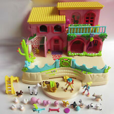 Mini Polly Pocket Petland House NEU 100%complete 18 Fig. NEW Bauernhof Hacienda