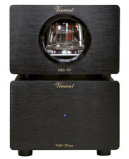 New listing Vincent Pho-701 Preamplifier Phono Black New Warranty Italy