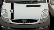Vauxhall Vivaro Sportive Bonnet Graphic Vinyl Sticker