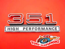 Ford Falcon GT XW 351 High Performance Guard & Boot Badge Will Suit GS Fairlane