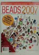 Beadshine Beads 2007 Magazine The Ultimate Beaders Resource Beads Jewelry Trends