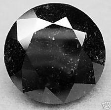 12.74 Carat  1 Black Polished ROUGH Natural DIAMOND GEM