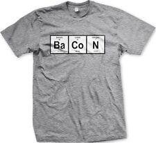 Periodic Table Bacon Barium, Cobalt, Foodies Funny -Men's T-shirt
