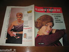 TV RADIOCORRIERE 1963/42=COVER LILLY LEMBO=FESTIVAL CANZONE NAPOLETANA NAPOLI=