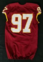 #97 of Washington Redskins NFL Locker Room Game Issued Worn No Nameplate Jersey