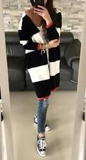Damen Pullover Strickjacke Lang Cardigan Boho Blogger Street Style S/M 38/40 662
