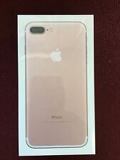 Apple iPhone 7 Plus (Latest Model) - 128GB - Rose Gold Unlocked Smartphone New!