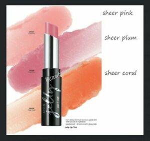 Avon Jelly Lip Tint - Sheer Coral and Sheer Plum - new in box