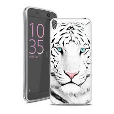 Coque Sony Xperia XA - Motif Tigre Blanc