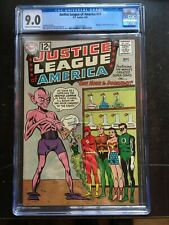 JUSTICE LEAGUE OF AMERICA #11 CGC VF/NM 9.0; CM-OW; One Hour to Doomsday!