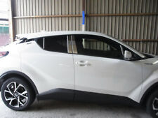 8PCS SUS304 Stainless Steel   Window Pillar Trim For Toyota C-HR 2018 2019