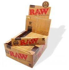 RAW Classic Drehpapier King Size Slim Zigarettenpapier Drehpapier 32 Blätter