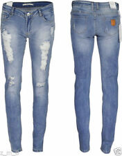 Ripped, Frayed Slim, Skinny L30 Jeans for Women