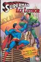 Superman Vs Lex Luthor GN OOP Jerry Siegel Finger Action Man of Steel OOP New NM