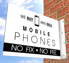 MOBILE PHONE SHOP SIGN for SHOP FRONT , Aluminium Wall Sign, iPhone, Samsung etc