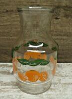 Vintage Anchor Hocking Orange Juice Carafe Pitcher