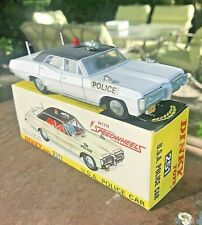 Dinky Toys 251R Pontiac Parisienne USA Police Car White 1971 Made in England
