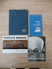 Original Volvo Bordmappe & Betriebsanleitung Volvo P1800 E