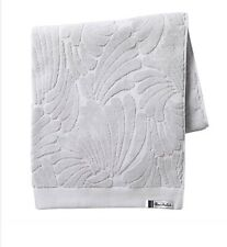 4 x florence broadhurst Fingers Bath Towel Cotton Terry  Silver Absorbent Grey