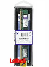 Kingston DDR3 1600MHz 4GB KVR16N11S8/4 PC-12800 Desktop Memory 240pin