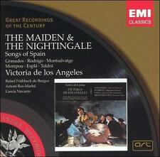 Victoria de los Angeles The Maiden & the Nightingale: Songs of S CD