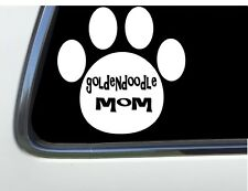 """ThatLilCabin - Goldendoodle Mom Paw Print 6"""" As1482 car sticker As1482"""