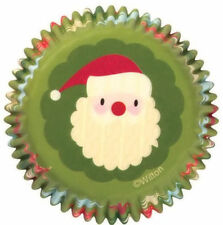 Santa Christmas Holiday Cupcake Baking Cups 75 ct from Wilton #0303