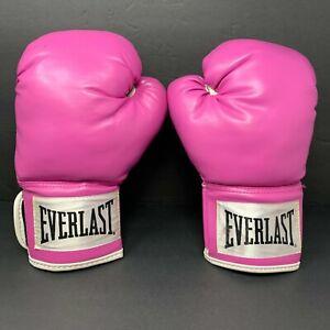 Everlast Women's Boxing Gloves Pro Style Training Pink 12 Ounce EUC