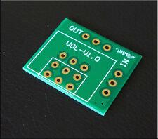 1pc PCB Board Gold Plated ALPS RK16 RK27 Potentiometer Audio Amplifier Pre-AMP