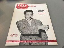TÉLÉ MAGAZINE N° 48 (septembre 1956) : DOMINIQUE NOHAIN