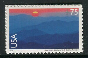 US #C140, 2006 75c Great Smokey Mountains National Park - Air Mail Issue, MNH