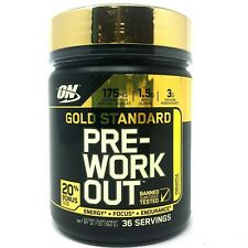 Optimum Nutrition ON Gold Standard PRE-WORKOUT 36 SERVINGS Compare Cellucor C4