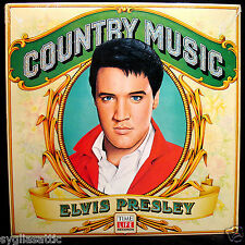 ELVIS PRESLEY-Country Music-Fully Sealed Album From 1981-TIME LIFE #STW-106