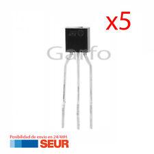 5X Regulador de Tension L78L33 3,3V TO-92