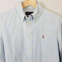 [ RALPH LAUREN ] Womens Custom Fit striped Shirt | Size M or AU 12 / US 8