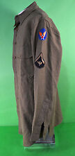 WWII Army Air Corp Dress Uniform Shirt  WW2 AAF with Patches