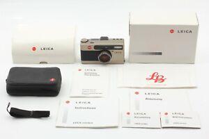 【UNUSED in Box w/ Case】Leica Minilux Summarit 40mm f/ 2.4 Film Camera from JAPAN