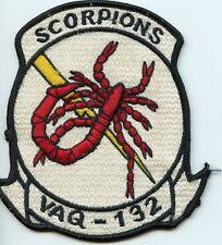 Us Navy Vaq-132 Scorpions Squadron Patch