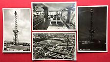 4 x Foto AK BERLIN 1939 Funkturm mit Ausstellungsgelände   ( 14676