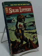 Solar Lottery by Philip K Dick - 2nd printing - Ace D-340