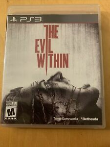 The Evil Within PS3. Complete In Box, Tested And Works