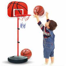 Adjustable Kids Toy Basketball Training Ball Hoop Outdoor Indoor Activity Game