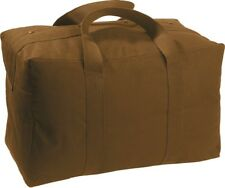 Coyote Brown Military Parachute Cargo Bag