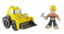 Fisher Price Bob the Builder Bob and Scoop Ages 3+ Toy Car Truck Play Race Gift