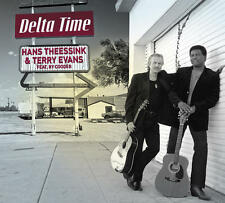 Hans Theessink & Terry Evans Featuring Ry Cooder - Delta Time CD BRAND NEW blues