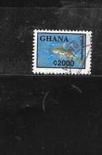 GHANA SC #1838 1995 2000 CE FISH DEFINITIVE  POSTALLY USED STAMP