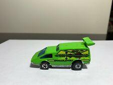 Vintage Hot Wheels 1976 Spoiler Sport Flying Colors Van Green (Su5)